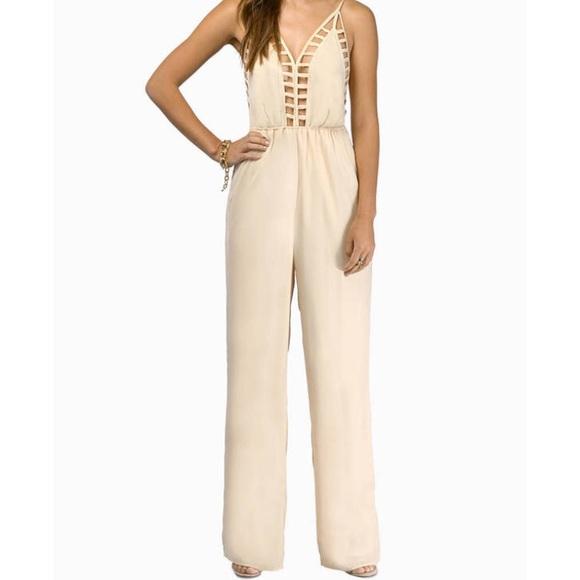 54c026125a12 Tobi Pants - Tobi Callie Cutout Cami Jumpsuit